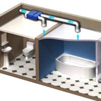 Вентилятор канальный 100 мм бесшумный для бытовых вентиляционных систем