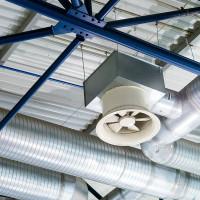 Вентилятор вытяжной промышленный низкого, среднего и высокого давления